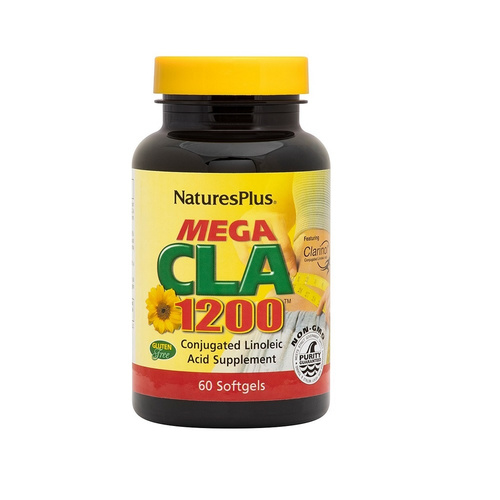 Nature's Plus Mega CLA 1200mg 60sgels