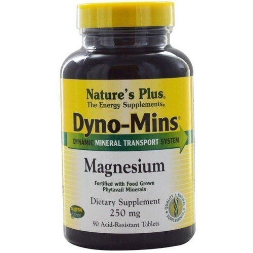 Nature's Plus Dyno-Mins Magnesium 250mg 90tabs