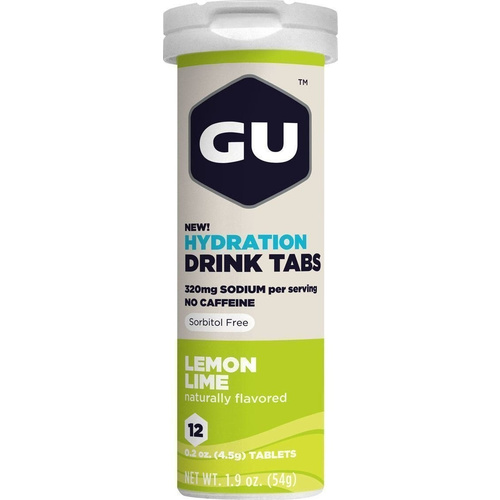 GU Hydration Drink Lemon Lime 12tabs