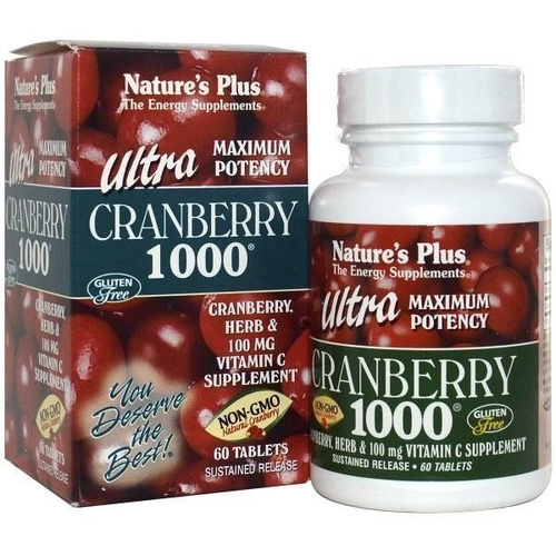 Nature's Plus Ultra Cranberry 1000mg 60tabs