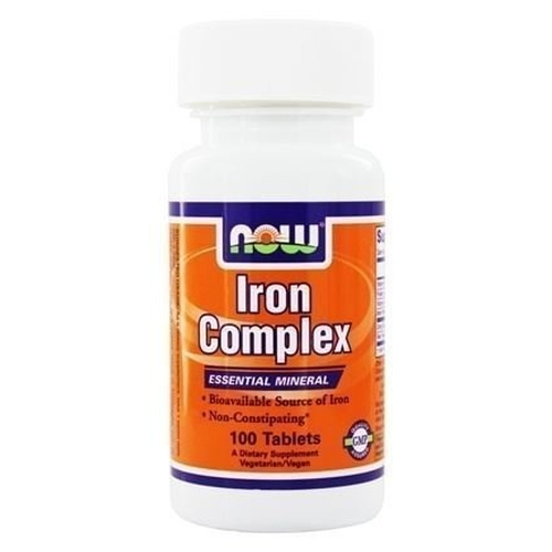Now Foods Iron Complex Vegetarian 100 ταμπλέτες