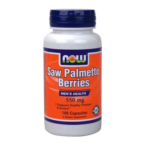 Now Foods Saw Palmetto Berry 500mg 100 Capsules