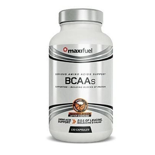 Maximuscle MaxiNutrition Maxifuel BCAA 130 Caps