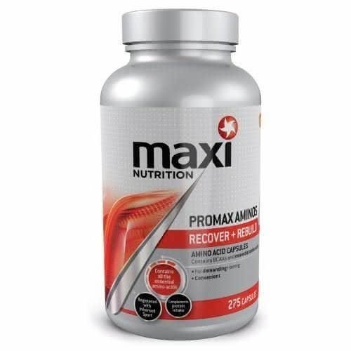 Maximuscle MaxiNutrition Promax Aminos 275 Caps