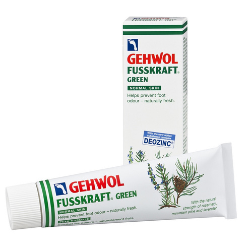 Gehwol Fusskraft Green125 Ml