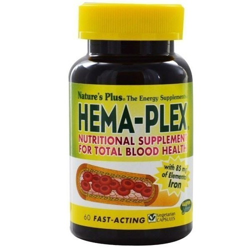 Nature's Plus Hema-Plex 60vcaps