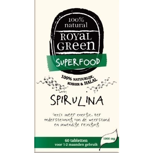 Royal Green Spirulina 60caps