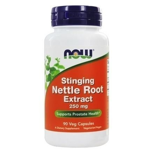 Now Foods Nettle Root Extract 250mg 90 Vcaps