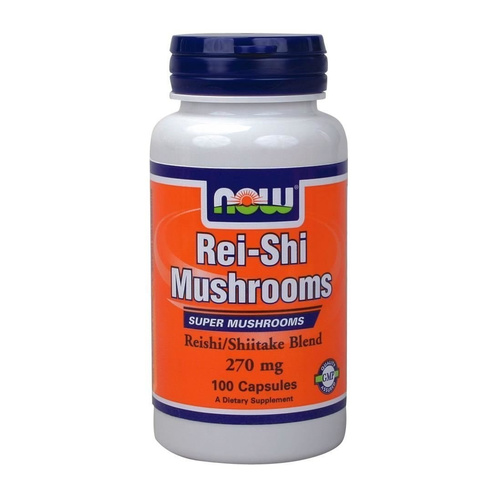 Now Foods Rei-shi Mushrooms 270mg