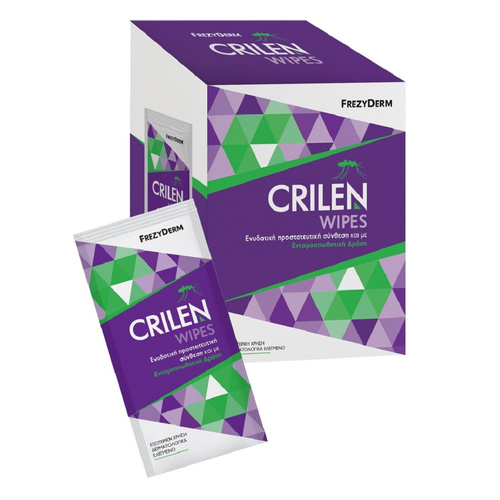 Frezyderm Crilen Wipes 20 Μαντηλάκια