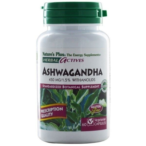 Nature's Plus Ashwaganha 450mg 60vcaps