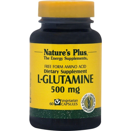 Nature's Plus L-Glutamine 500mg 60vcaps