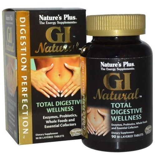 Nature's Plus GI Natural Total Digestive 90tabs