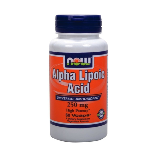 Now Foods Alpha Lipoic Acid 250mg 60Vcaps