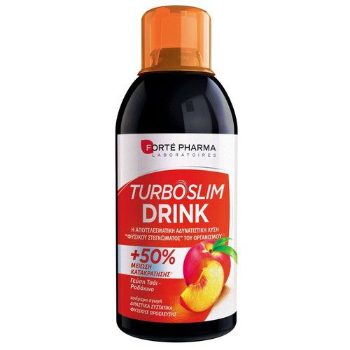 Forte Pharma Turboslim Drink Ροδάκινο 500ml