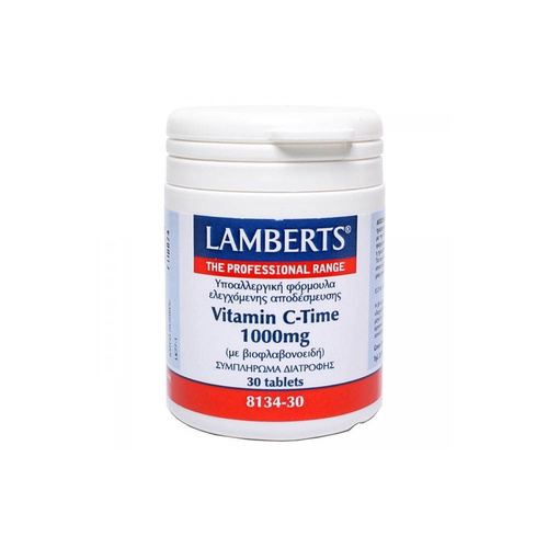 Lamberts Vitamin C-Time 1000mg 30tabs