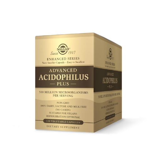 Solgar Advanced Acidophilus Plus 120vcaps