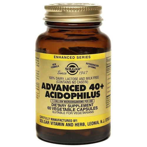Solgar Advanced 40+ Acidophilus Veg.60s