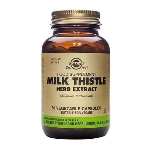 Solgar Milk Thistle Herb Extract Veg.60s