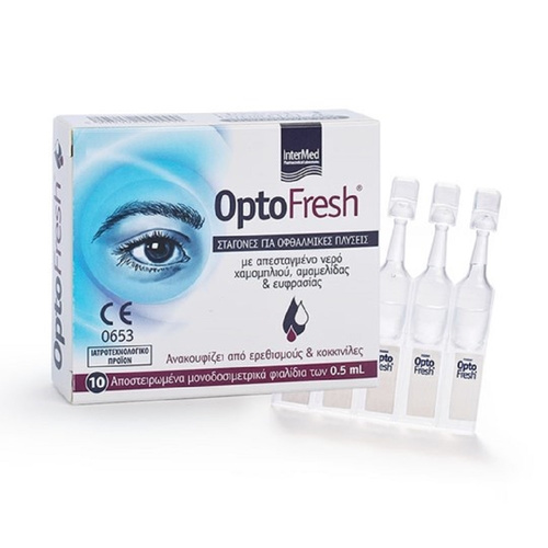 Optofresh Optofresh Eye Drops 10amp x 0,5ml