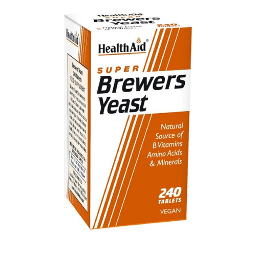 Health Aid Brewers Yeast - Μαγιά Μπύρας 240tabs