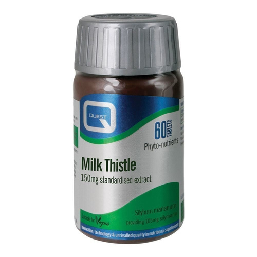 Quest Milk Thistle 150mg Extract Tabs 60s