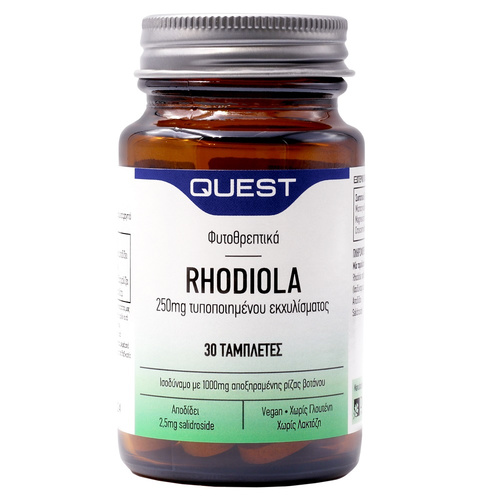 Quest Rhodiola 250mg Extract Tabs 30s