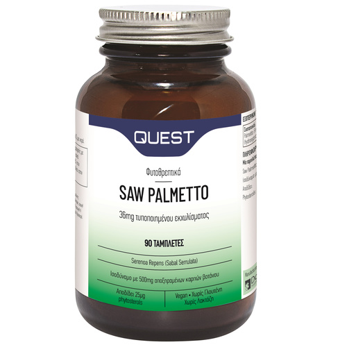 Quest Saw Palmetto 36mg Extract 90 Tabs