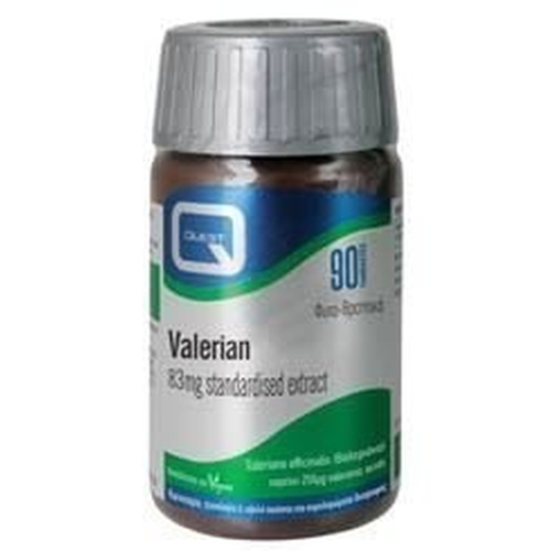Quest Valerian 83mg Extract 90Tabs