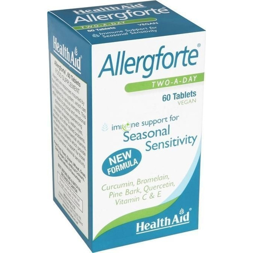 Health Aid Allergforte Two a Day 60 ταμπλέτες