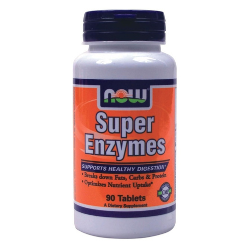 Now Foods Super Enzymes 90 Ταμπλέτες