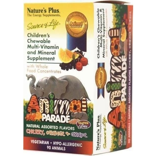 Nature's Plus Animal Parade Assorted Flavors 90tabs