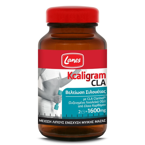 Lanes Kcaligram CLA 1600mg 60caps