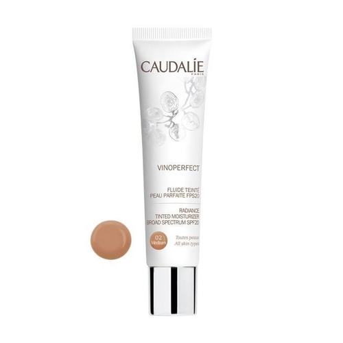 Caudalie Vinoperfect Radiance Tinted Moisturizer SPF20 Medium 02 40ml