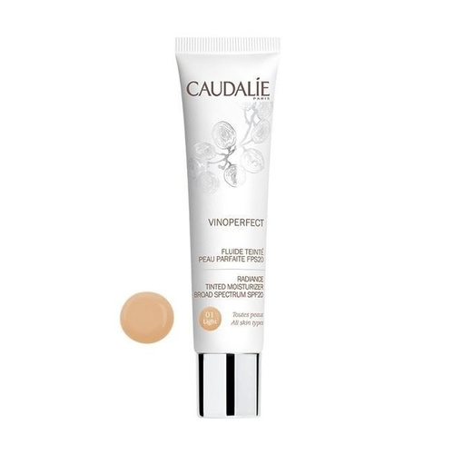 Caudalie Vinoperfect Radiance Tinted Moisturizer SPF20 Light 01 40ml
