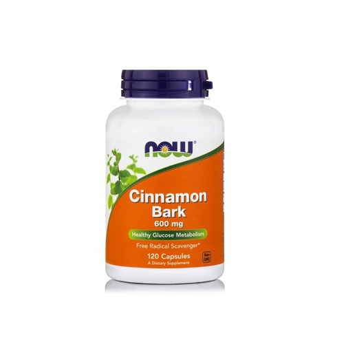 Now Foods Cinnamon Bark 600 mg 120 Caps