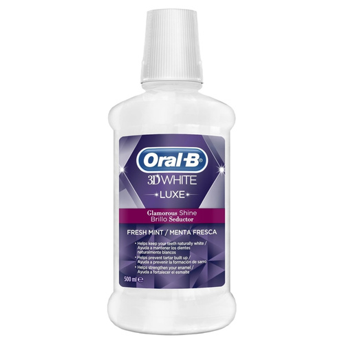 Oral-B 3D White Luxe Perfection Στοματικό Διάλυμα 500ml