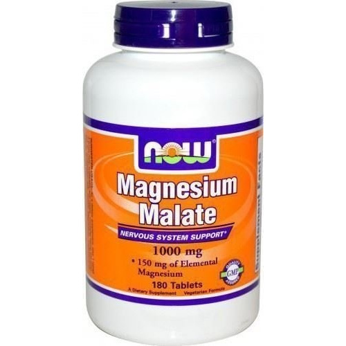 Now Foods Magnesium Malate 1000mg 180tabs