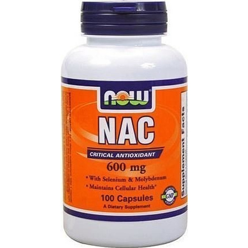 Now Foods N-Acetyl Cysteine 600mg 100Vcaps