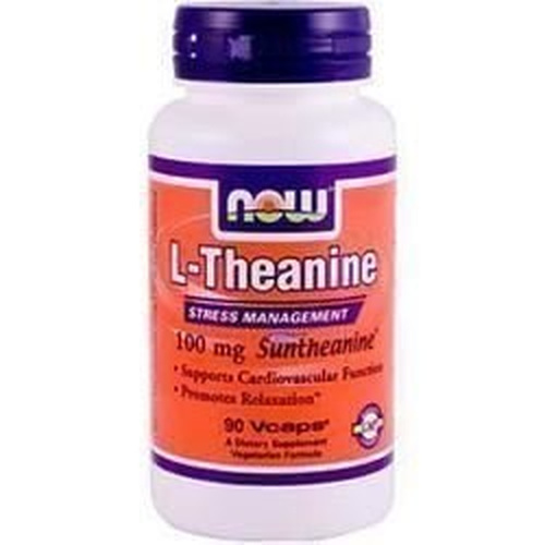 Now Foods L-Theanine 100mg 90Vcaps