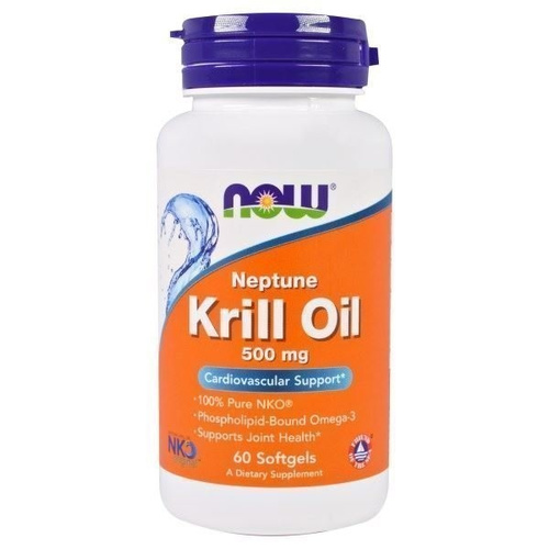 Now Foods Krill Oil Neptune 500mg 60 Softgels
