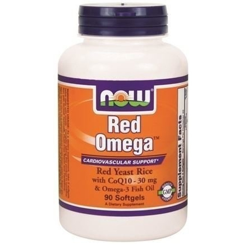 Now Foods Red Omega 90 Softgels