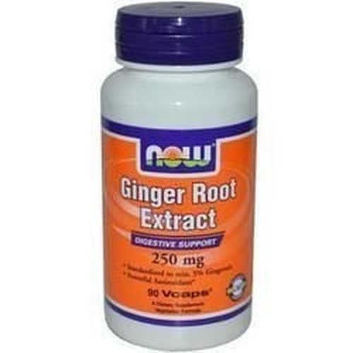 Now Foods Ginger Root Extract 250mg 90Vcaps