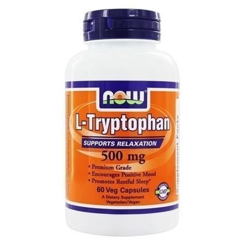 Now Foods L-Tryptophan 500mg 60Vcaps