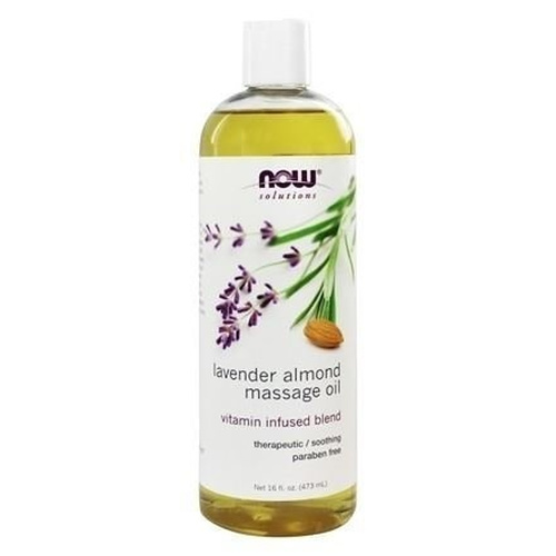 Now Foods Lavender Almond Massage Oil 473ml