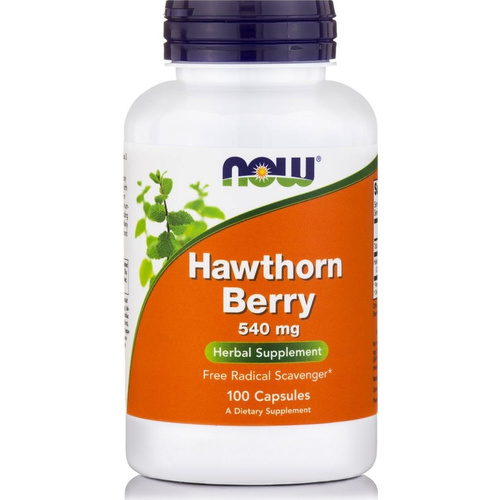 Now Foods Hawthorn Berry 550 mg 100Caps