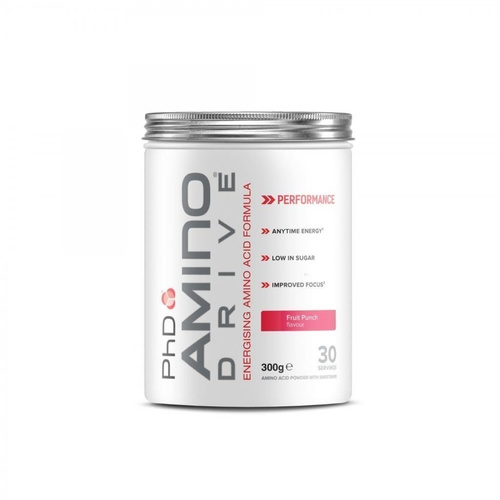 PhD Amino Drive Fruit Punch 300gr