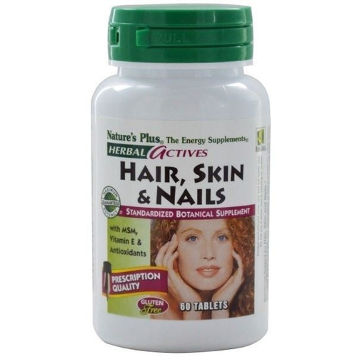 Nature's Plus Hair Skin and Nails 60Caps