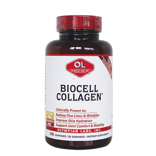 Olympian Labs Biocell Collagen 500mg 100caps
