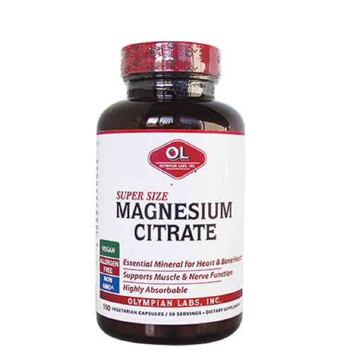 Olympian Labs Magnesium Citrate 100caps